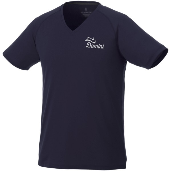Amery pánské cool fit v-neck tričko cool fit - Navy / S