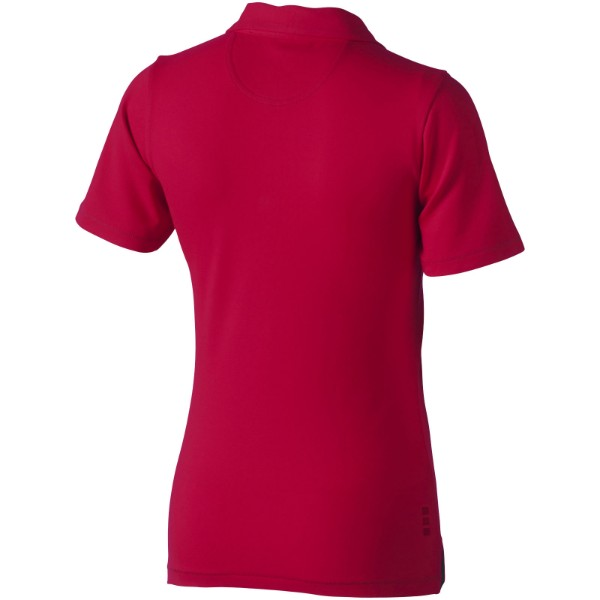 Markham short sleeve women's stretch polo - Red / XS