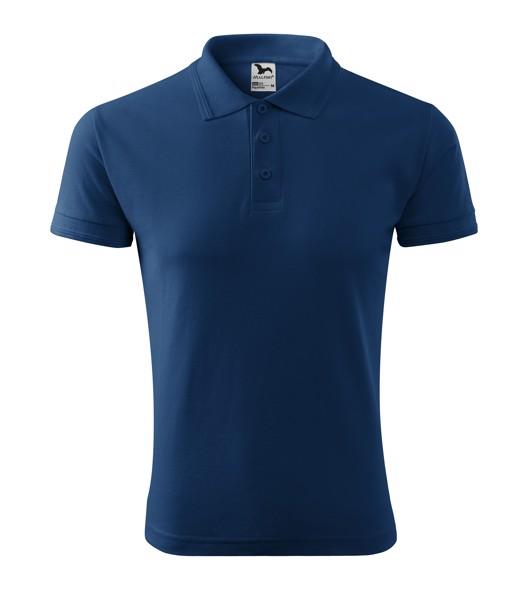 Polo Shirt men's Malfini Pique Polo - Midnight Blue / 2XL