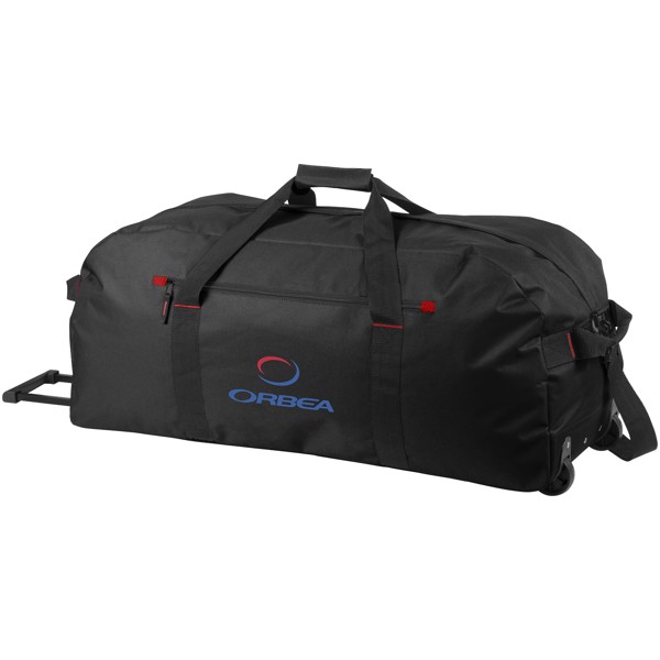 Vancouver trolley travel bag - Solid black