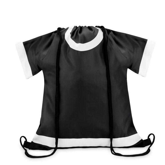 Plecak ze sznurkiem T-Draw - czarny