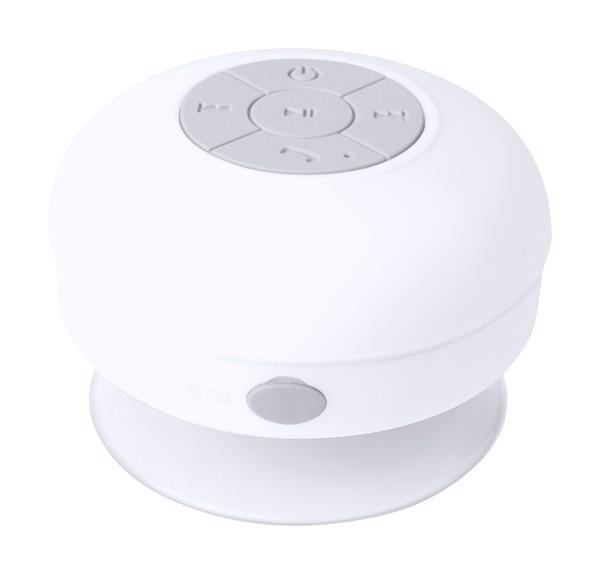 Vodotěsný Bluetooth Reproduktor Rariax - Bílá / Bílá