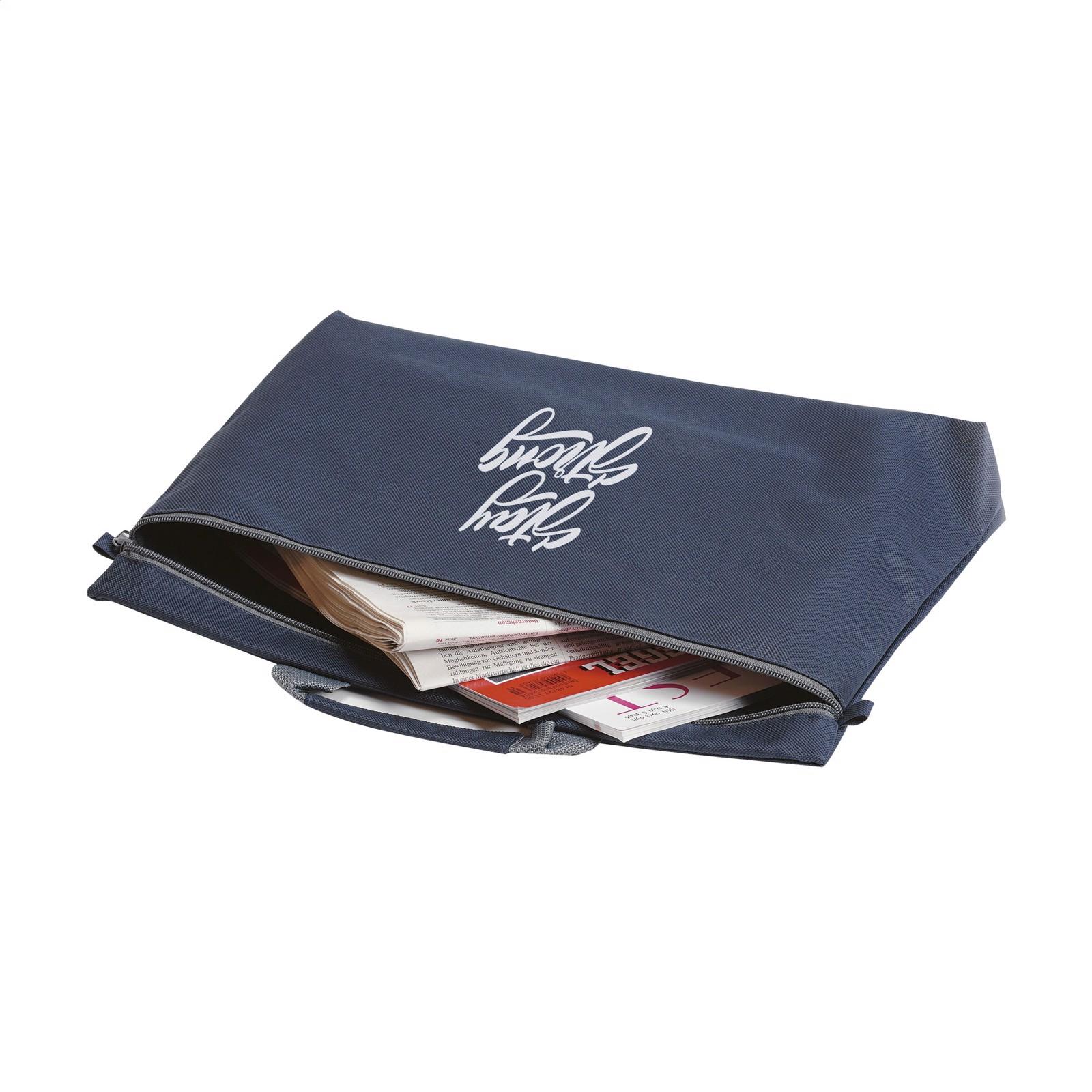 DocuTravel document bag - Dark Blue