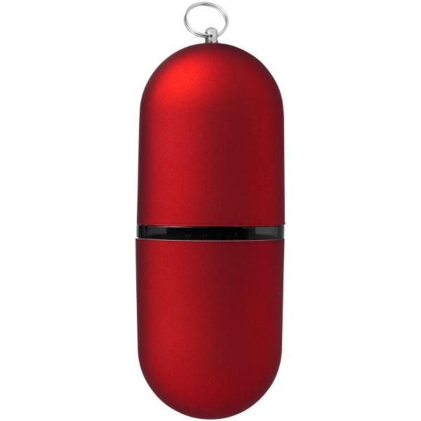 Zakulacené USB Business - Červená s efektem námrazy / 2GB