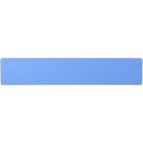 Rothko 20 cm plastic ruler - Frosted blue