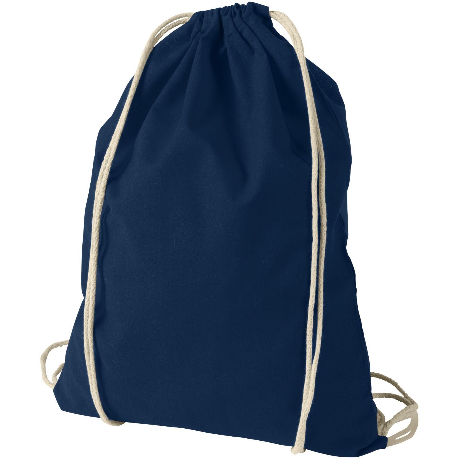 Bavlněný kvalitní batůžek Oregon - Navy