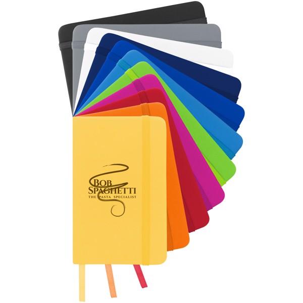 Zápisník s pevnou obálkou A6 Spectrum - 0ranžová