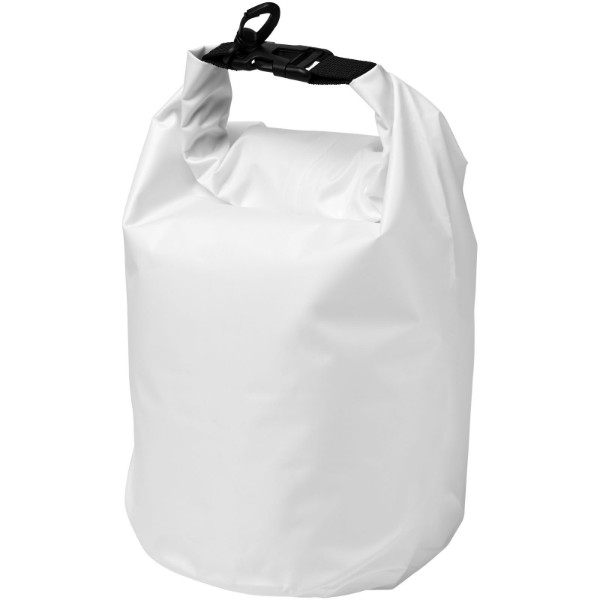 Survivor 5 litre waterproof roll-down bag - White