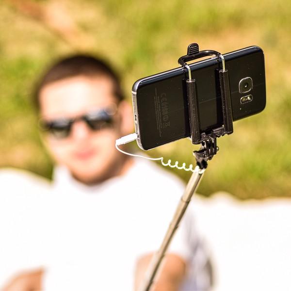 Statyw do smartfonów Selfie Compact - Czarny
