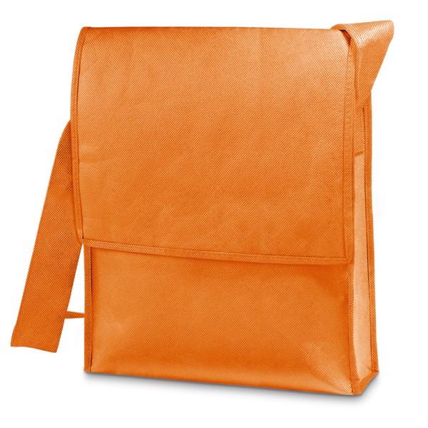 NASH. Bolso bandolera con cremallera - Naranja