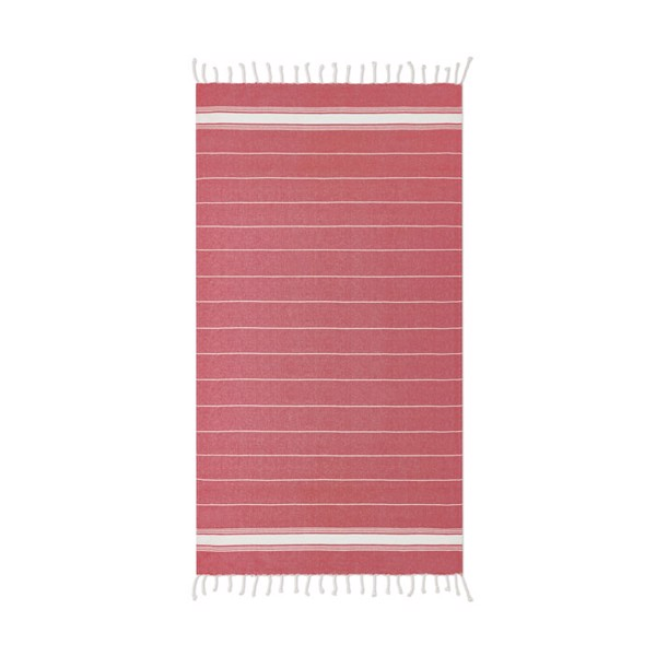 Beach towel cotton  180 gr/m² Malibu - Red