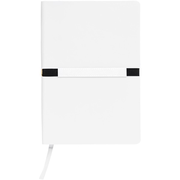 Stretto A5 soft cover notebook - White
