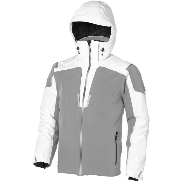 Ozark insulated jacket - White / Grey / XS