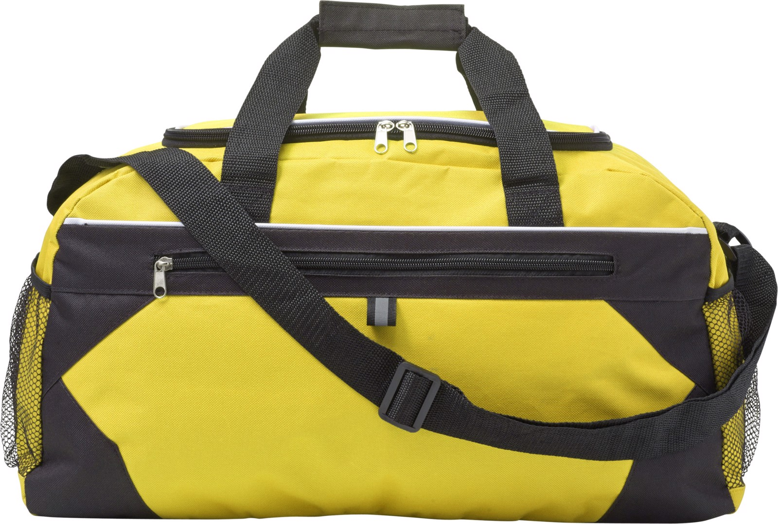 Polyester (600D) sports bag - Yellow