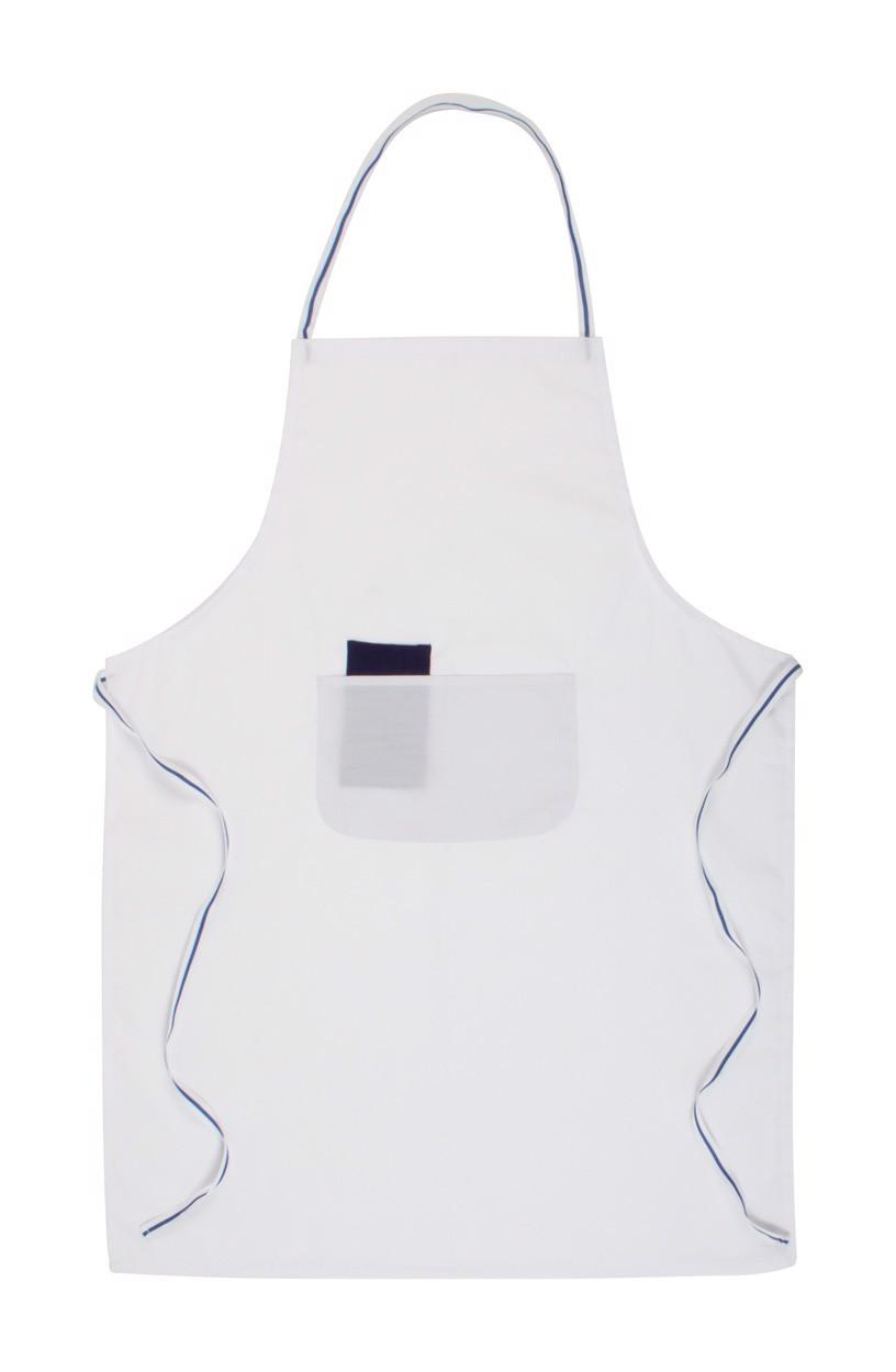 Kuchařská Zástěra Bacatis - Bílá