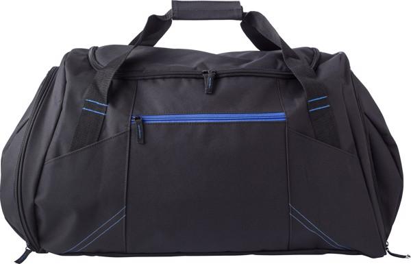 Polyester (300D) sports bag - Cobalt Blue