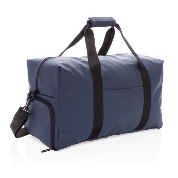 Víkendová taška z hladkého PU - Námořní Modř