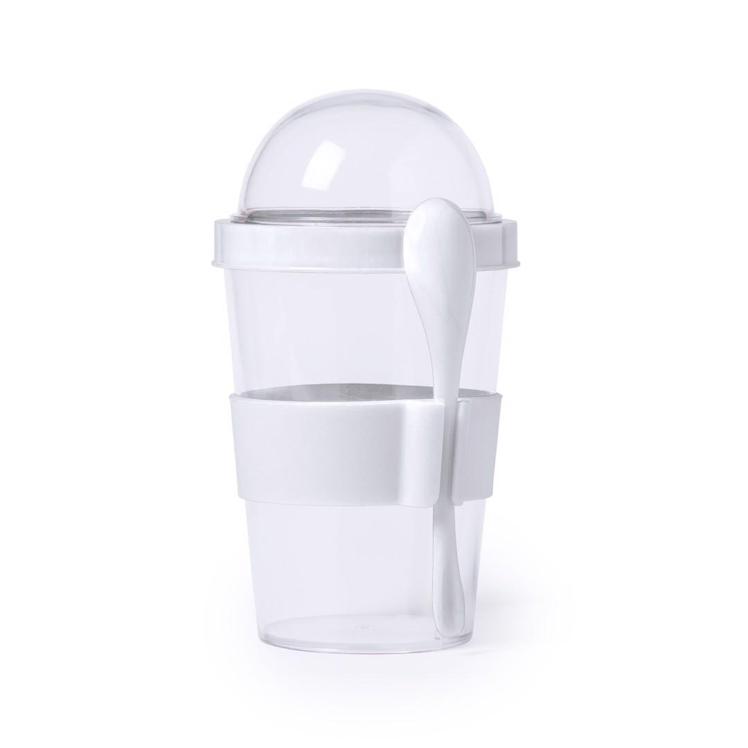 Cup Yoplat - White