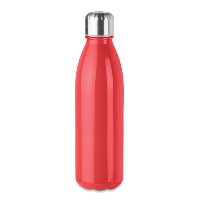 Botella de cristal 650 ml Aspen Glass - rojo