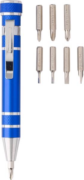 Aluminium 2-in-1 torch - Grey