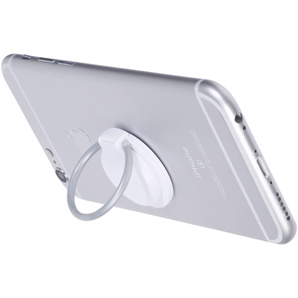 Loop ring and phone holder - White