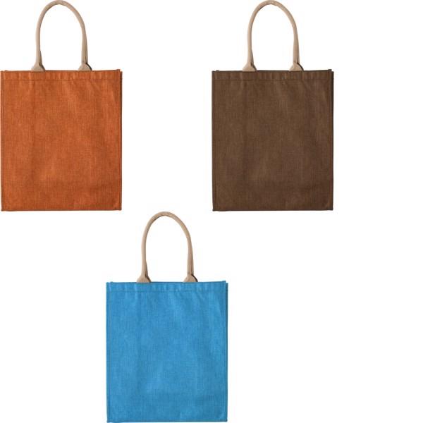 Polyester shopping bag - Cobalt Blue