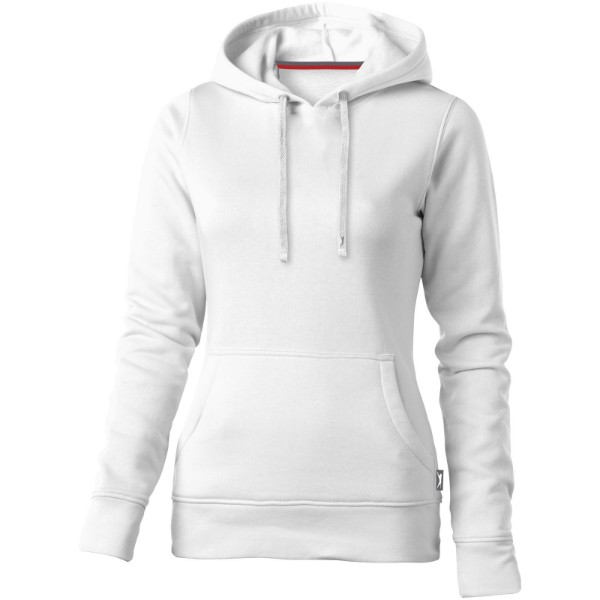 Alley hooded ladies sweater - White / M