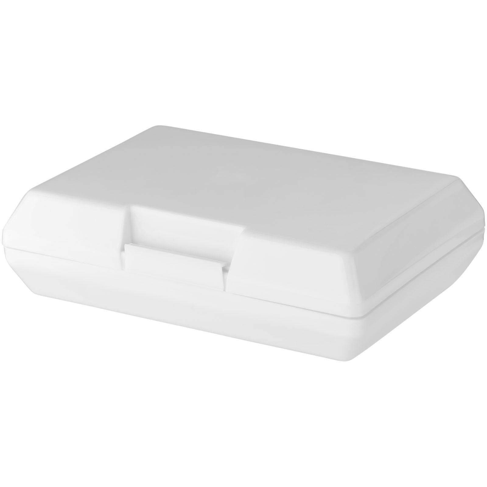 Svačinová krabička Oblong - Bílá