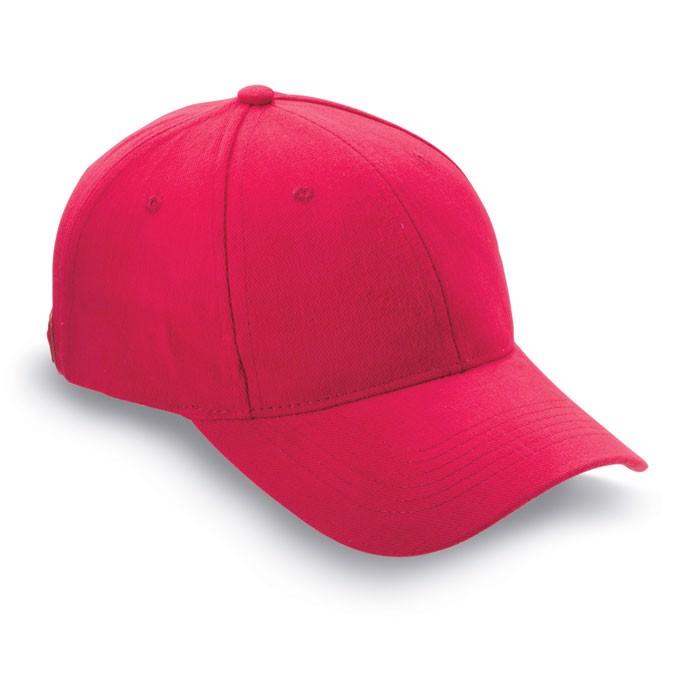 Czapka baseballowa Natupro - czerwony