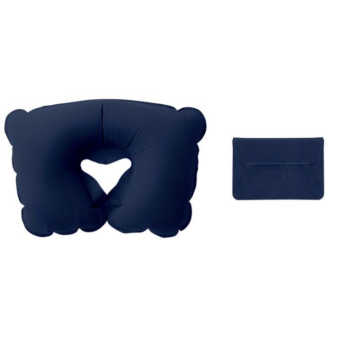 Nafukovací cestovní polštářek Travelconfort - blue