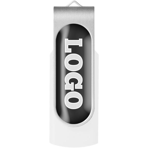 Rotační Doming USB - Bílá / 1GB