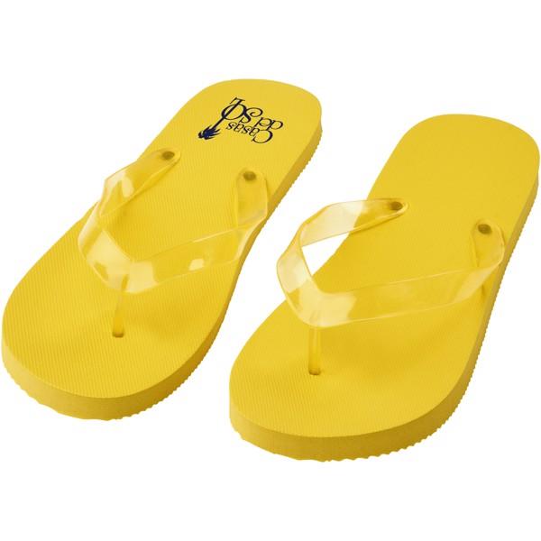 Klapki plażowe Railay (L) - Żółty