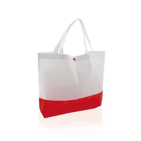 Saco Bagster - Branco / Vermelho