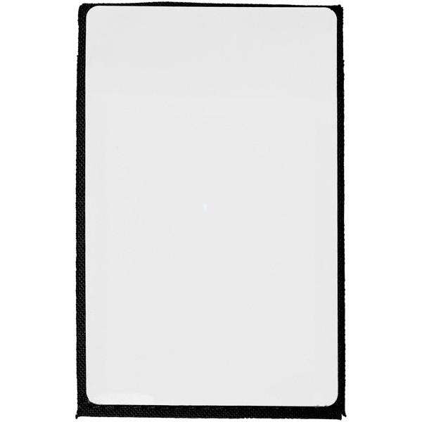 Telefonní pouzdro na karty Pose s RFID se stojánkem - Černá