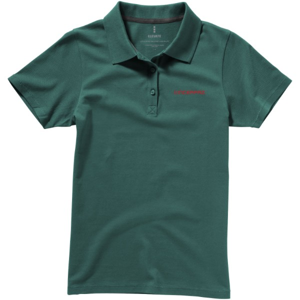 Seller short sleeve women's polo - Forest Green / XL