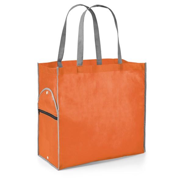 PERTINA. Foldable bag - Orange