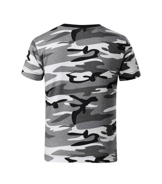 T-shirt Kids Malfini Camouflage - Camouflage Gray / 4 years