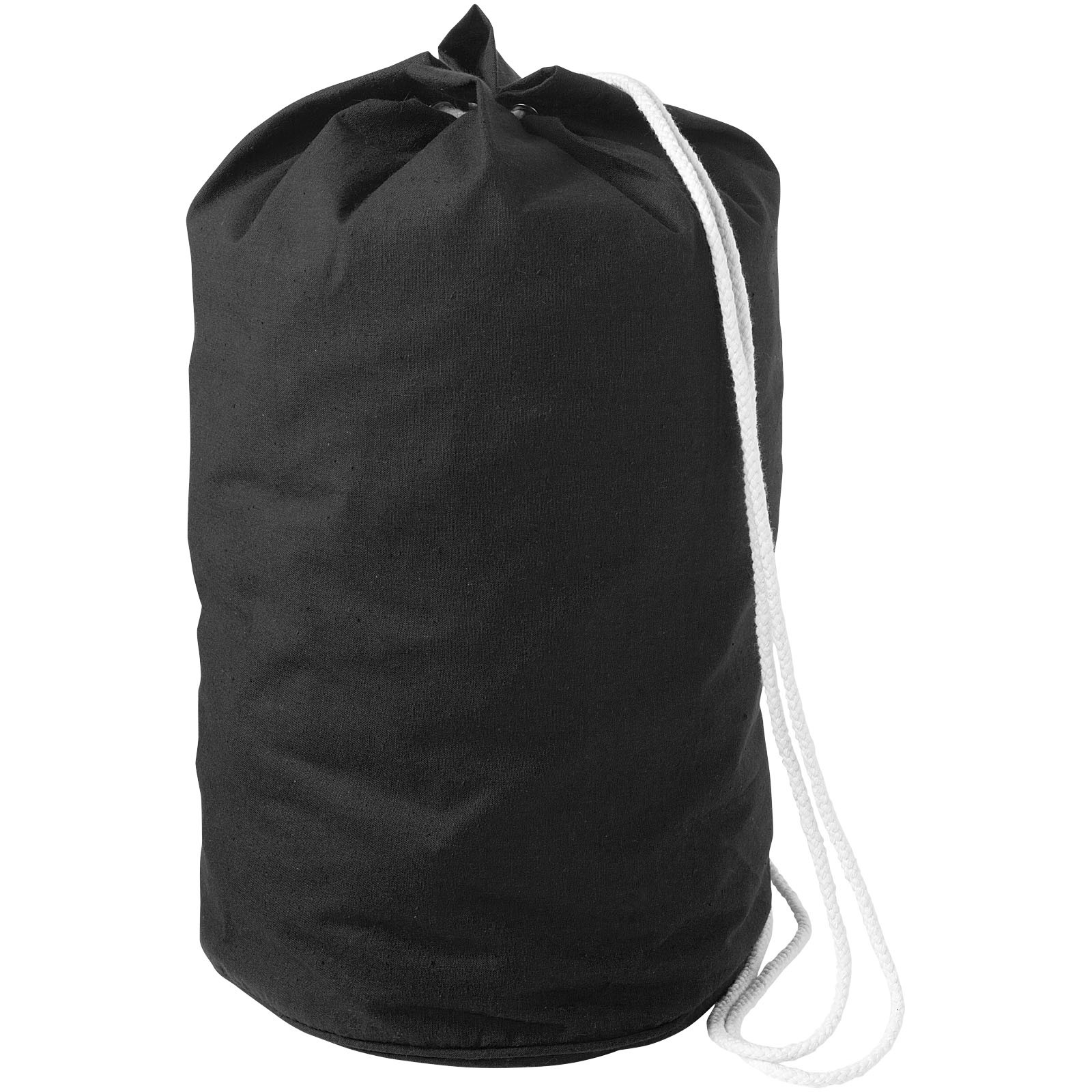 Missouri cotton sailor duffel bag - Solid black