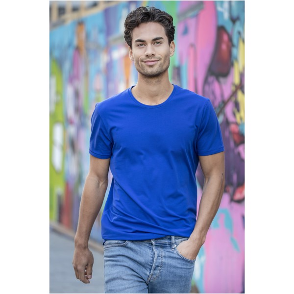 Balfour short sleeve men's GOTS organic t-shirt - Grey melange / S