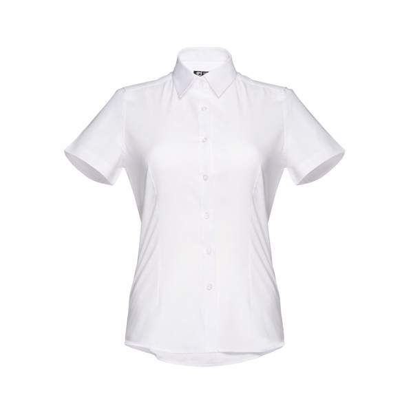 LONDON WOMEN. Γυναικείο πουκάμισο oxford - Λευκό / XXL