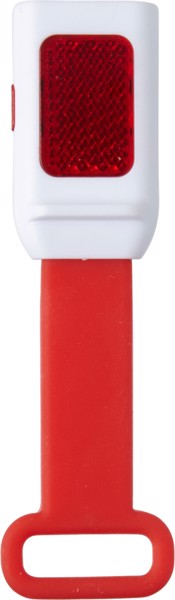 ABS bicycle light - Red