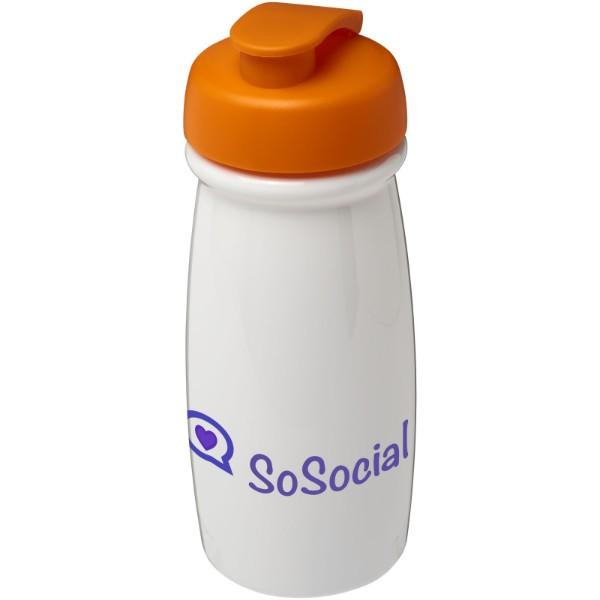 Sportovní láhev s vyklápěcím víčkem H2O Pulse® 600 ml - 0ranžová