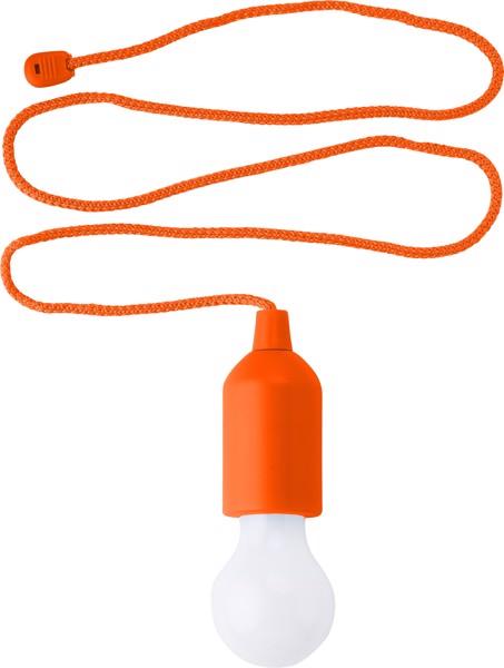 ABS pull light - Orange