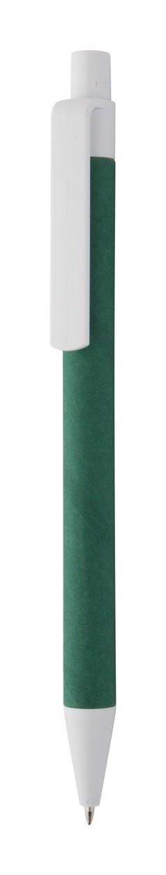 Kuličkové Pero Ecolour - Zelená / Bílá