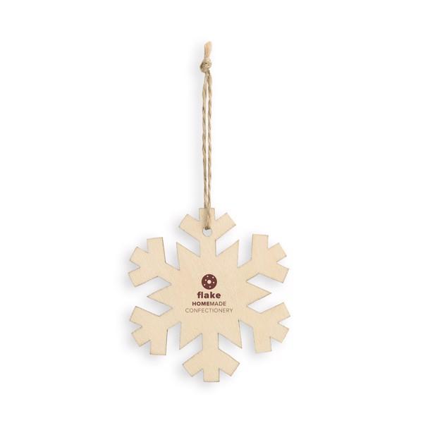 FLAKE. Christmas ornament
