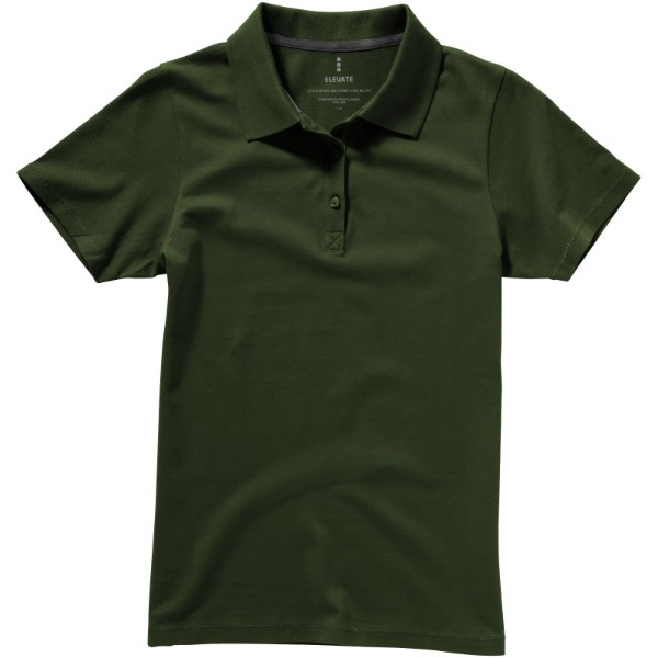 Seller short sleeve women's polo - Army Green / XS