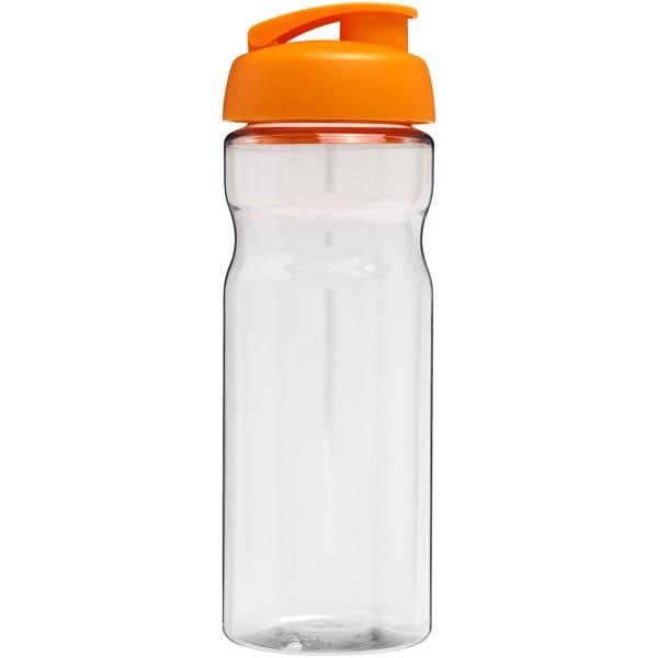H2O Base® 650 ml flip lid sport bottle - Transparent / Orange