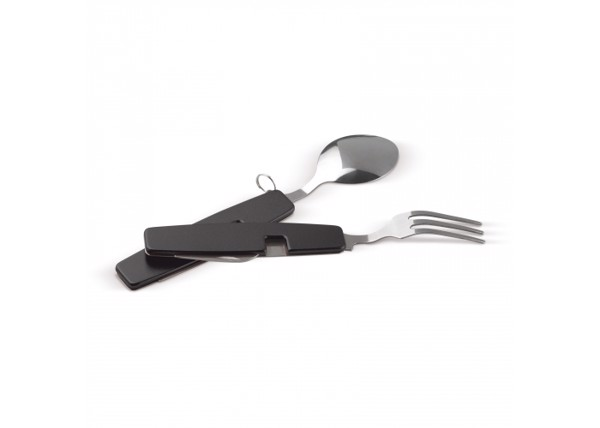 Foldable cutlery in multitool - Black