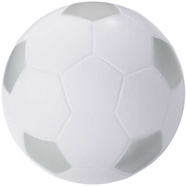 Antistresový míč Football - White Solid / Silver