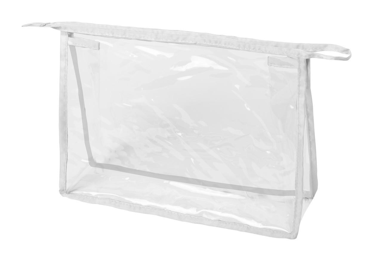 Kosmetická Taška Losut - Průhledná / Bílá